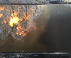 What Happens When You Blowtorch A TV