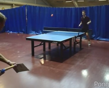 Awesome Ping Pong Trick Shots