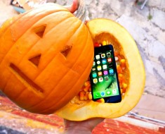 Can A Pumpkin Protect An iPhone 7 From 100ft Drop Test