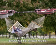 A Flying Drone Hammock