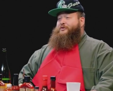 Action Bronson Blows His High Eating Spicy Wings