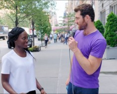 Billy On The Street Lupita Nyong'o Tries Stand Up