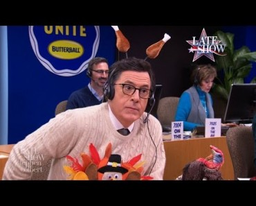Stephen Colbert's Thanksgiving Turkey Tips