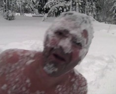 Watch This Crazy Norwegian Celebrating First Snow