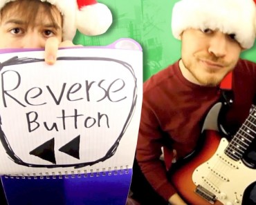 Amazing Backwards Cover Of 'We Wish You A Merry Christmas'
