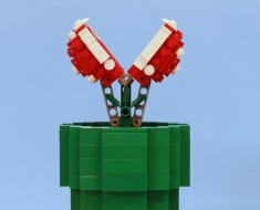 Build Your Own Working LEGO Piranha Plant