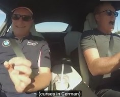 Conan Hits The Autobahn In A BMW i8