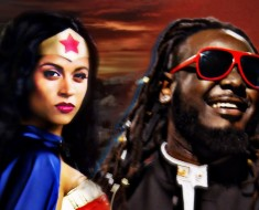 Epic Rap Battles Of History Wonder Woman Vs Stevie Wonder