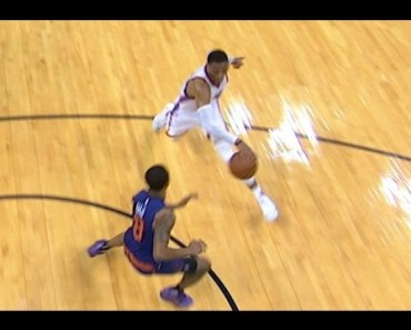 Sick Basketball Move By NBA Pro Russell Westbrook