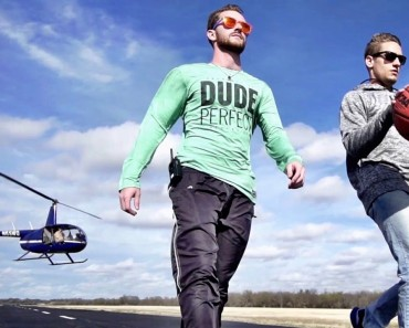 The Dude Perfect Editors Got To Have Their Epic Video