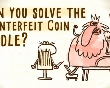 Can You Solve The Counterfeit Coin Riddle