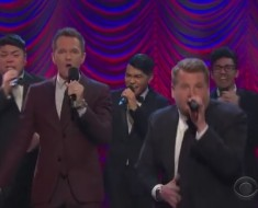 James Corden Does A Broadway Riff-Off W Neil Patrick Harris
