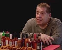 Joey 'CoCo' Diaz Breaks Out The Blue Cheese While Eating Spicy Wings