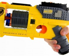 This Awesome LEGO Nerf Gun Is Actually Working