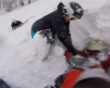 Experienced Snowboarder Buried Under Snow For 10 Minutes