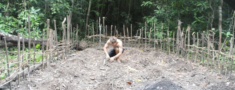 Primitive Technology Planting Cassava And Yams