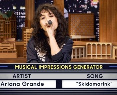 Wheel Of Musical Impressions With Jimmy Fallon And Alessia Cara
